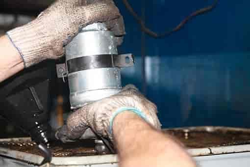 Замена топливного фильтра Киа Соул