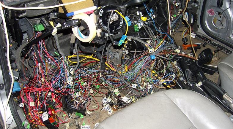 Ремонт электрики в автомобиле своими руками 28