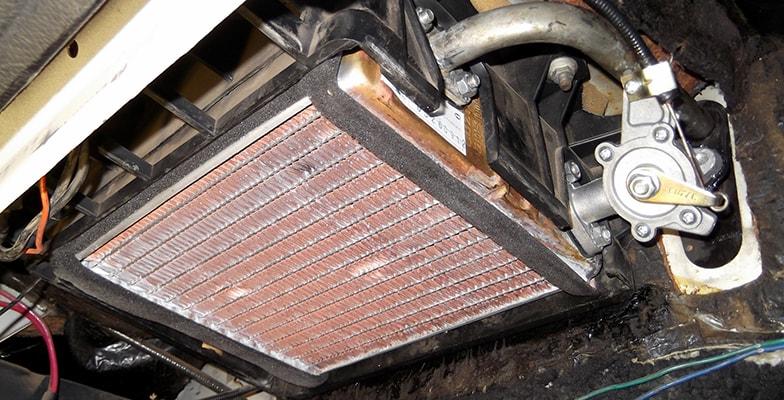 Замена радиатора печки хендай