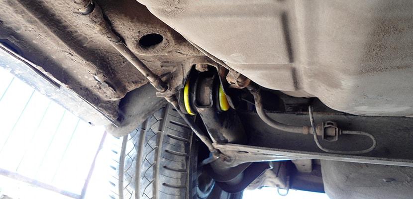 Замена сайлентблока Хендай Акцент, замена сайлетблоков передних и задних рычагов Hyundai Accent